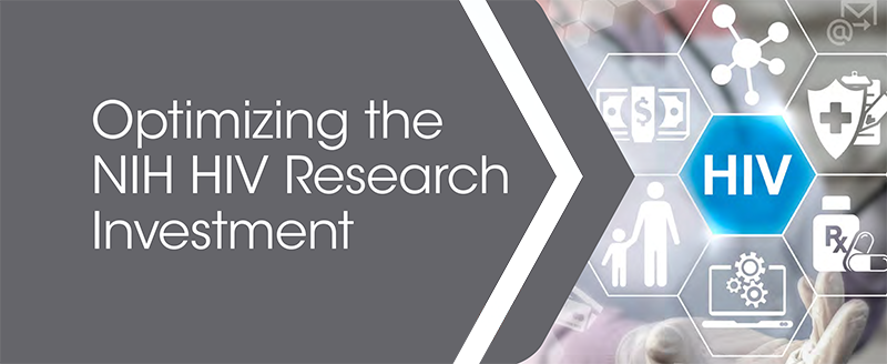 Optimizing the NIH HIV Research Investment